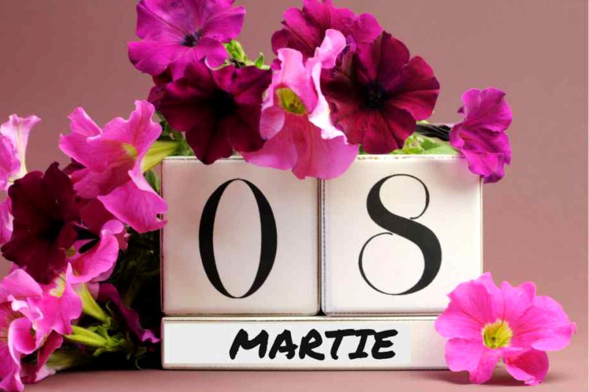 E 8 martie. Te iubesc, mama!