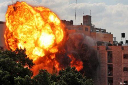Israelul intensifica atacurile in Gaza pe masura ce conflictul intra in a cincea zi